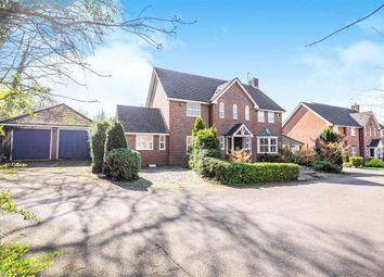 Thumbnail 4 bed detached house for sale in Quickthorns, Oadby, Leicester