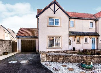 Thumbnail 3 bedroom semi-detached house for sale in Thornyhall, Dalkeith