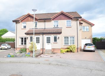Thumbnail 4 bed semi-detached house for sale in Castle Heather Drive, Inverness