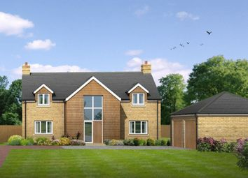 Thumbnail 4 bed detached house for sale in Gordon Road, Little Paxton, St. Neots