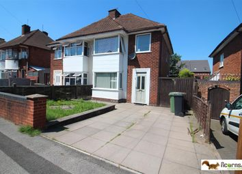 Thumbnail 3 bed semi-detached house for sale in Hodson Avenue, Willenhall