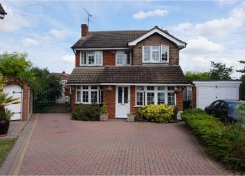 Thumbnail 4 bed detached house for sale in The Elkins, Romford