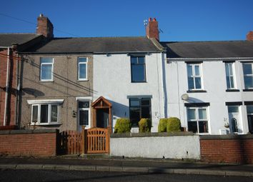 Thumbnail 2 bed terraced house for sale in East View, Sherburn Hill, Durham