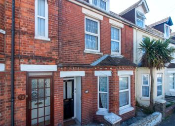 Thumbnail 3 bed terraced house for sale in Linden Crescent, Folkestone