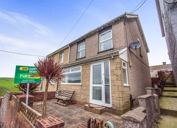Thumbnail 3 bed semi-detached house for sale in Beech Street, Gilfach Goch, Porth