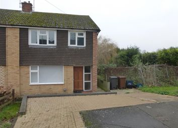 Thumbnail 3 bedroom semi-detached house for sale in Brackley Close, Kingsthorpe, Northampton