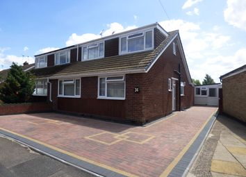 Thumbnail 3 bedroom semi-detached bungalow for sale in Mellowship Road, Eastern Green, Coventry