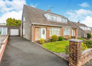 Thumbnail 3 bedroom semi-detached house for sale in Graham Avenue, Pen-Y-Fai, Bridgend