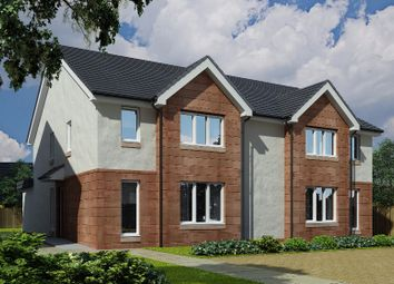 Thumbnail 3 bed semi-detached house for sale in Willie Mckelvey Brae, Kilmarnock, East Ayrshire