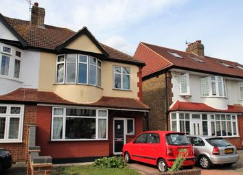 Thumbnail 3 bed semi-detached house for sale in Compton Avenue, Romford