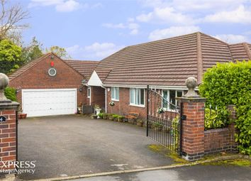 Thumbnail 4 bed detached bungalow for sale in Yew Tree Close, Light Oaks, Stoke-On-Trent, Staffordshire