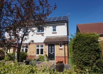 Thumbnail 2 bed semi-detached house for sale in Packhorse Drive, Enderby