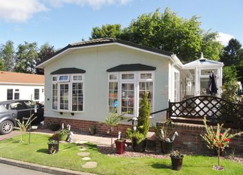 Thumbnail 2 bed mobile/park home for sale in Roecliffe Park, Roecliffe, North Yorkshire