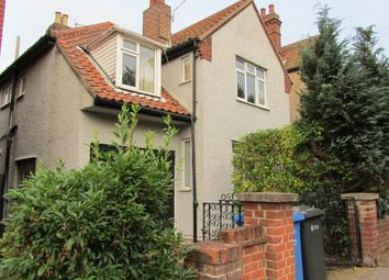 Thumbnail 5 bed detached house to rent in Recreation Road, Norwich