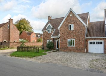 Thumbnail 5 bed link-detached house for sale in The Common, Swardeston, Norwich