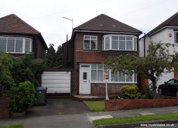 Thumbnail 3 bed detached house to rent in Chestnut Road, Oldbury