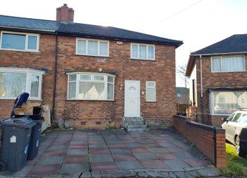 Thumbnail 3 bed semi-detached house to rent in Low Wood Road, Erdington, Birmingham