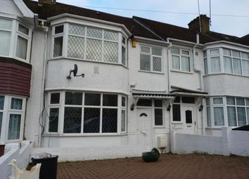 Thumbnail 3 bed terraced house for sale in Evelyn Avenue, Colindale, London