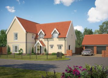 Thumbnail 4 bedroom detached house for sale in Ipswich Road, Grundisburgh, Suffolk