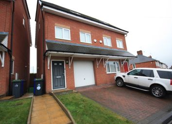Thumbnail 2 bed semi-detached house to rent in Wignall Road, Sandyford, Stoke-On-Trent