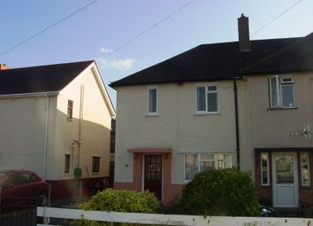 Thumbnail 3 bed end terrace house to rent in Ffynnon Dewi, Llanfaes, Brecon