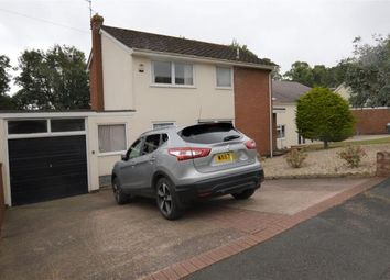 Thumbnail 3 bed detached house for sale in Okefield Road, Crediton, Devon