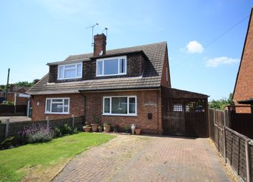 Thumbnail 3 bed semi-detached house for sale in Guildford Avenue, Midway, Swadlincote