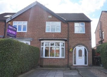 Thumbnail 3 bed semi-detached house for sale in Hazel Grove, Mapperley