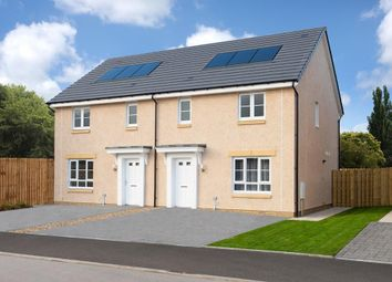 "Thumbnail 3 bedroom semi-detached house for sale in ""Coull"" at Glasgow Road, Kilmarnock"