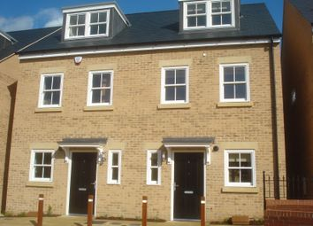 Thumbnail 3 bedroom terraced house to rent in Old Stable Yard, Bury St. Edmunds