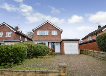 Thumbnail 3 bedroom detached house for sale in Warren Road, Enderby, Leicester