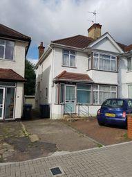 Thumbnail 3 bedroom semi-detached house for sale in Elmstead Avenue, Wembley/Preston Road