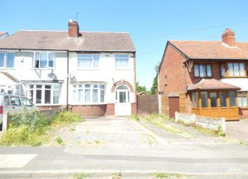 Thumbnail 3 bed semi-detached house for sale in Two Gates, Halesowen, West Midlands, United Kingdom