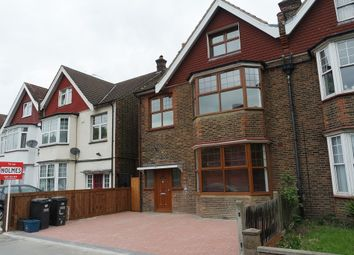 Thumbnail 3 bed flat to rent in Norbury Crescent, London