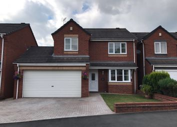 Thumbnail 4 bed detached house for sale in Keys Close, Hednesford, Cannock