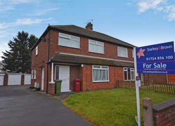 Thumbnail 2 bed flat for sale in Staindale Road, Ashby, Scunthorpe