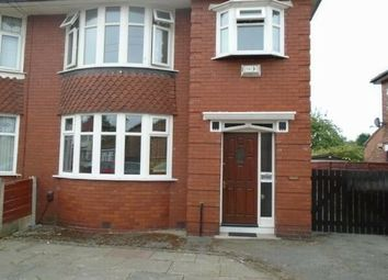 Thumbnail 3 bedroom semi-detached house to rent in Whitebrook Road, Manchester
