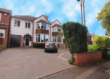 Thumbnail 4 bed semi-detached house for sale in Princes Avenue, Walsall