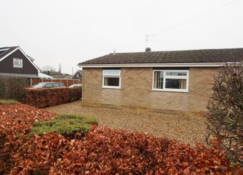 Thumbnail 2 bed semi-detached bungalow for sale in Ashleigh Gardens, Wymondham