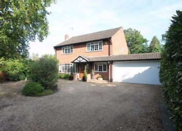 Thumbnail 4 bed detached house to rent in Belton Road, Camberley, Surrey