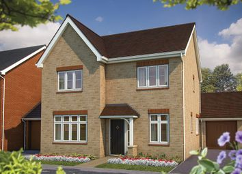 "Thumbnail 3 bed detached house for sale in ""The Challow"" at King Alfred Way, Oxfordshire, Wantage"