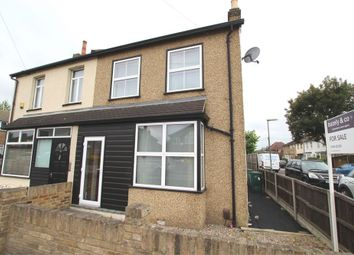 Thumbnail 2 bed semi-detached house for sale in Clockhouse Lane, Ashford, Middlesex