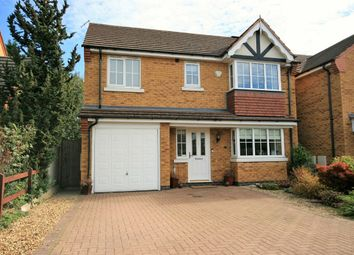 Thumbnail 4 bed detached house for sale in Battalion Drive, Simpson Manor, Northampton