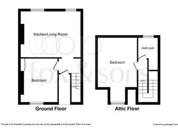 Thumbnail 2 bed flat for sale in Lansdowne Street, Hove
