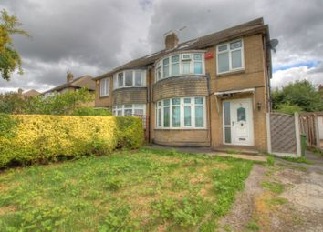Thumbnail 5 bed semi-detached house for sale in Carr Manor Drive, Meanwood, Leeds