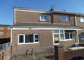 Thumbnail 3 bed semi-detached house for sale in Terfyn, Ynysawdre, Bridgend