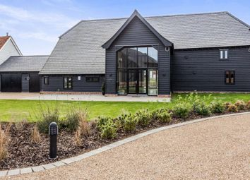 Thumbnail 4 bedroom barn conversion for sale in Old Lodge Court, White Hart Lane, Chelmsford, Essex
