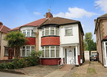 Thumbnail 4 bedroom semi-detached house for sale in Carlton Avenue East, Wembley