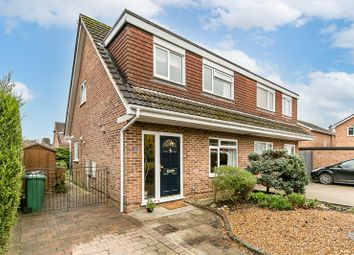 Thumbnail 3 bed semi-detached house for sale in Poynes Road, Horley, Surrey