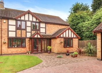 Thumbnail 4 bed detached house for sale in Wentworth Green, Kirby Muxloe, Leicester, Leicestershire
